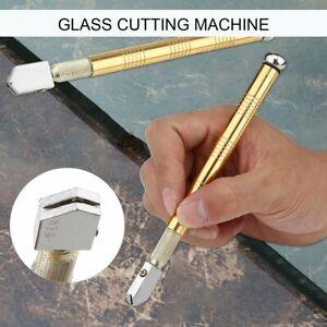 Metal-Handle-Steel-Rhinestone-Self-lubricating-Oil-Feed-Tipped-Glass-Cutter