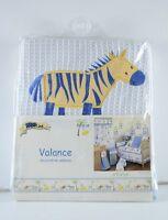 Kenya Kidsline Baby Toddler Velance Decorative Zebra Jungle Print 14 X 58 Inch