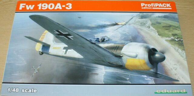 Focke-Wulf Fw 190 A-3 in 1/48 von Eduard Profipack