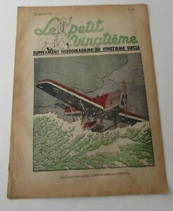 TINTIN-HERGE-LE-PETIT-VINGTIEME-NO-30-1937-BON-ETAT