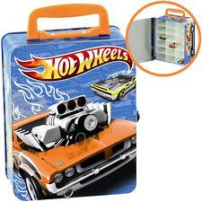 Theo Klein Hot Wheels Autosammelkoffer aus Metall Koffer Box für Auto Autos NEU