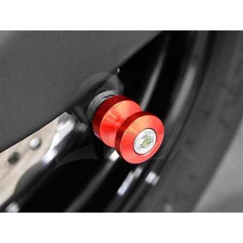 Yamaha YZF-R1 YZF R1 BJ 1998-2017 Bobbins Racingadapter M6 rot
