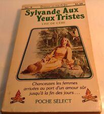 Book in French SYLVANDE AUX YEUX TRISTES Livre en Francais  LISE DE CERE