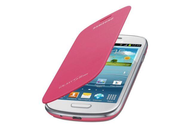 new product 39072 75fe1 Samsung Galaxy S3 Mini I8190 Genuine Original Flip Cover Case | Pink