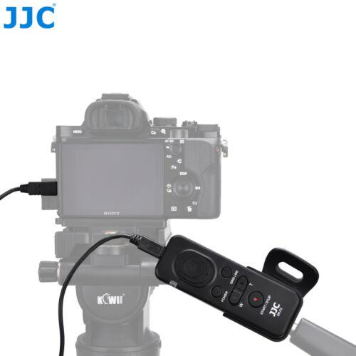JJC control remoto con cable para Sony A9 A7 A7R Mark III II A7S como RM-VPR1 II IV III