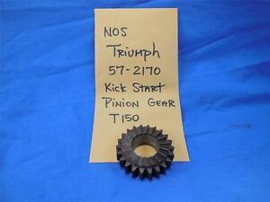 Triumph-57-2170-Kick-Start-Pinion-Gear-T150-NOS-NP1049