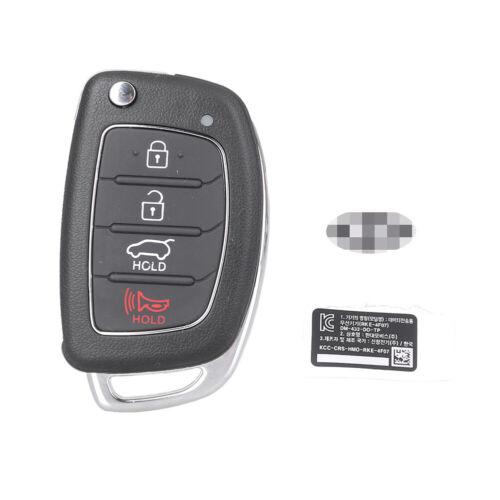 4 Buttons Remote Control Flip Key Shell Case For HYUNDAI Santa Fe 2013-2014