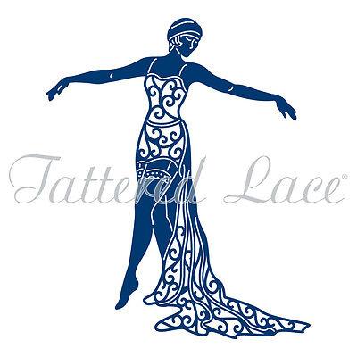 Tattered Lace Art Deco Cabaret Girl Jenny/Woman TLD0019 - Free Shiping/USA!