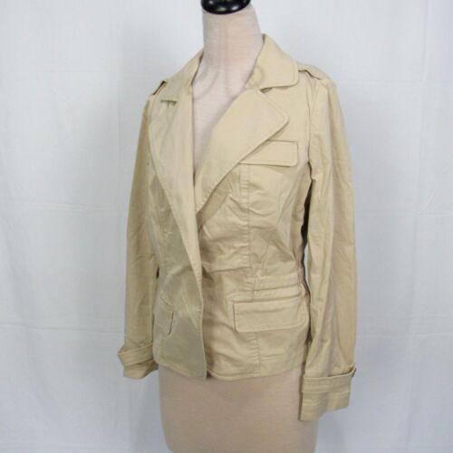 Coton Taille Veste Nwt Grace Talbots Fit The Blazer Avant C5 12 Femme En AvvYqI1