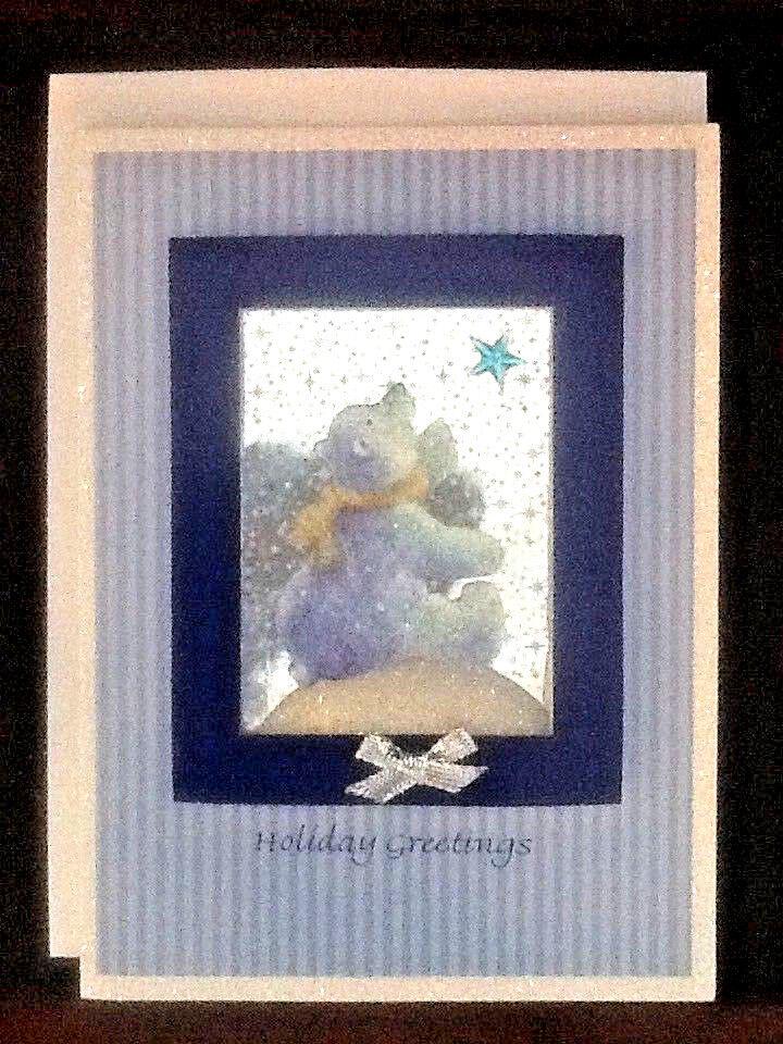 NEW! Vintage Burgoyne Hand Crafted Christmas Cards North Pole-R Bear ...