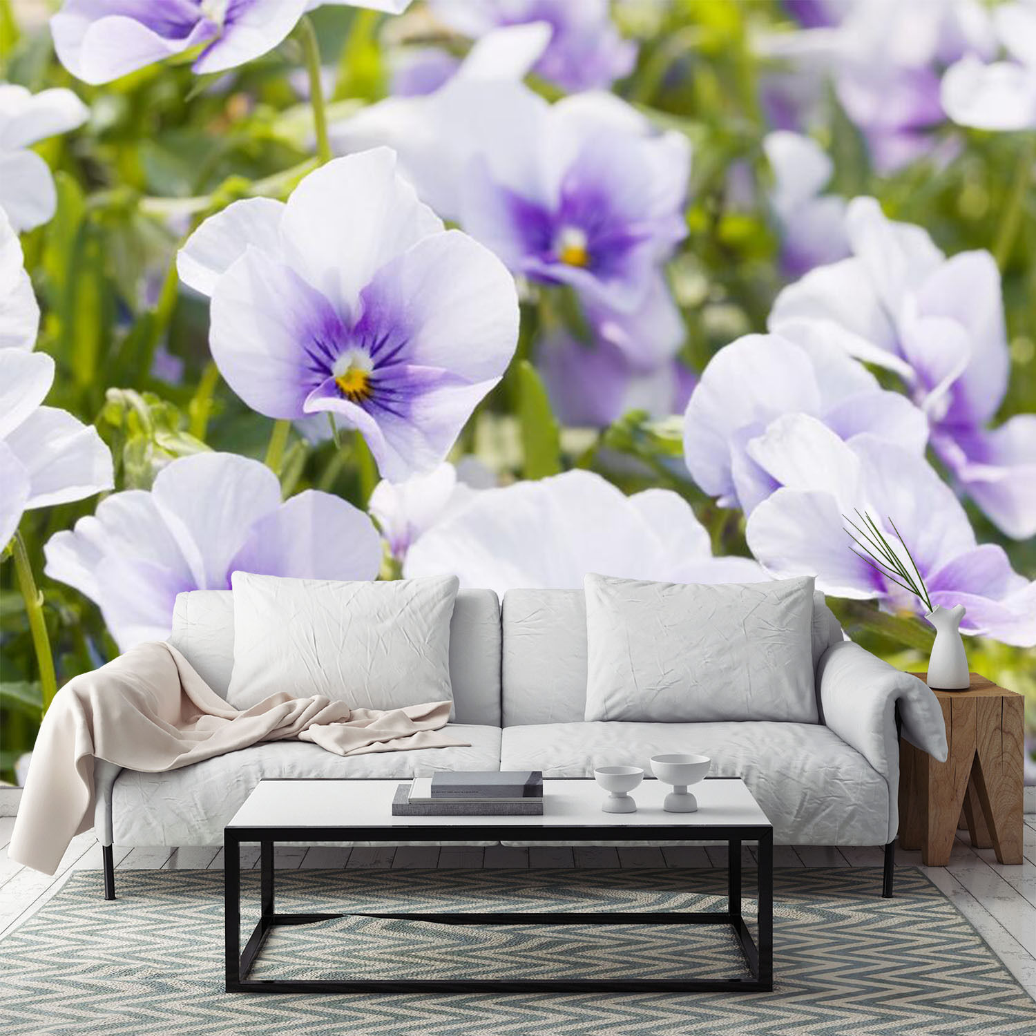 3D Fresh Dense Flowers 2659 Paper Wall Print Wall Decal Wall Deco Indoor Murals