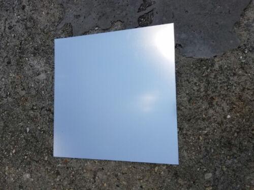 """22 Gauge CNC Plate Metal 6/"""" x 6/"""" Silver .025/"""" Color Anodized Aluminum Sheet"""