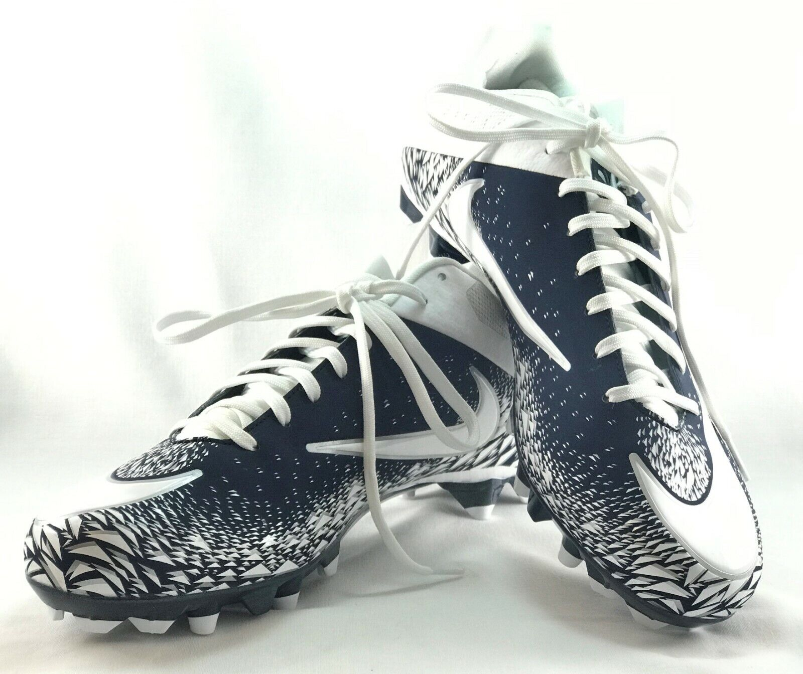 a8d5470ef3 Nike VPR Vapor Speed 2 TD Mens Lacrosse Football Cleats blueeWhite  833380-412 S14