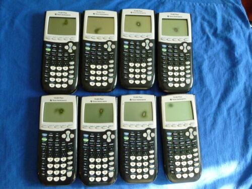 TI-84 Plus Graphic Calculator Texas Instruments Graphing TI84 Read Desc 4L