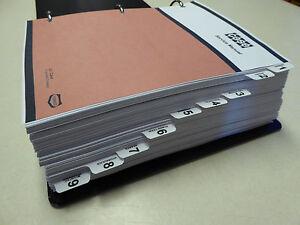 s l300 case 584e 585e 586e forklift service manual repair shop book new