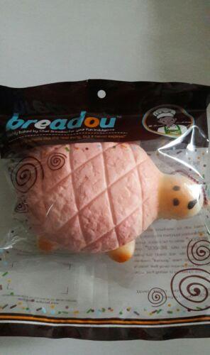 Light Pink Breadou Jumbo Kawaii Tortoise Squishy