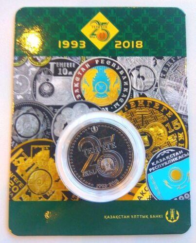 Kazakhstan 100 tenge 25 Years of Tenge 2018 BU blister