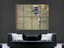 BANKSY GRAFFITI THE SITUATION   GIANT IMAGE HUGE LARGE WALL ART POSTER PICTURE