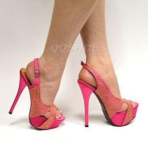 Liliana-Phoebe-16-Studded-Slingback-Platform-High-Heel-Sandal-Women-Shoes