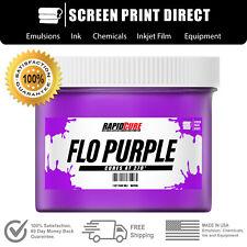 Fluorescent Purple Screen Printing Plastisol Ink Low Temp Cure 32oz