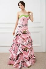 Item 3 New Pink Camo Wedding Dresses Formal Ball Gown Camouflage Bridal Gowns Custom