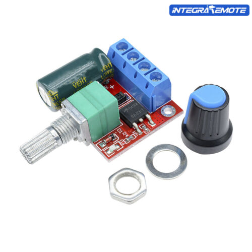 PWM DC Motor Controller Speed 5V-35V 5A 20khz Regulation Dimmer LED