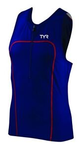 TYR Mens Carbon Tri Tank with Zipper