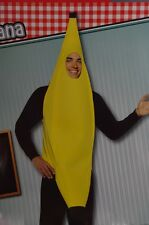 Adult Mens Womens Banana Suit Fruit Food Halloween Costume S Medium Large XL NEW