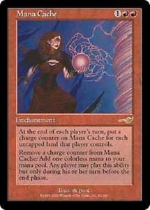MANA-CACHE-Nemesis-MTG-Red-Enchantment-RARE