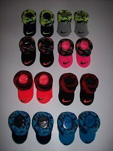 Nike-Crib-Shoes-Booties-Socks-Baby-Boy-Girl-Swoosh-Select-Style-Color-0-6-Mo-NIB