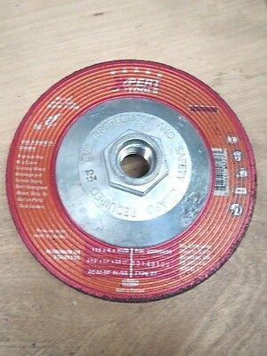 4-1//2X1//4X5//8 GRINDING WHEEL STEEL A30-BF T27 TYROLIT 10 PCS NO.20006655 LL1155