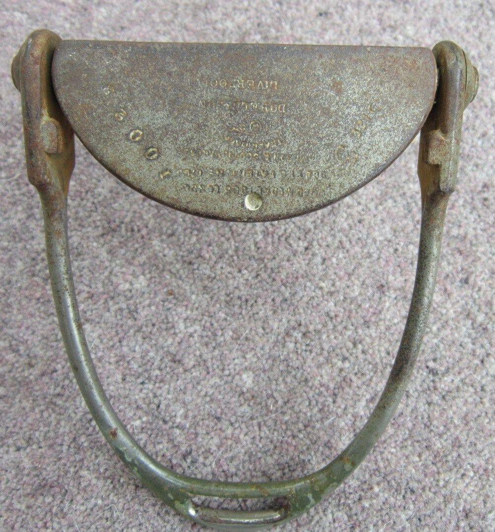 Antiguo Estribo De Hierro Hierro Hierro De Seguridad silla lateral por Dobell & son Liverpool 70cad3