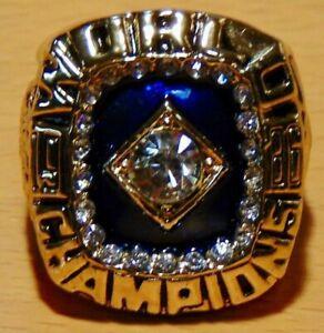 1986-NEW-YORK-METS-Championship-Ring-World-Series-18k-GOLD-PLATE-USA-SELLER