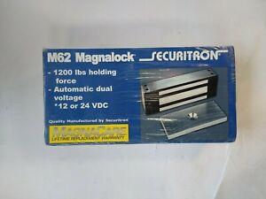 M62 Magnalock 1200LB Holding Force Securitron 12v 24v M62SCM Senstat Fm-C/METRIC
