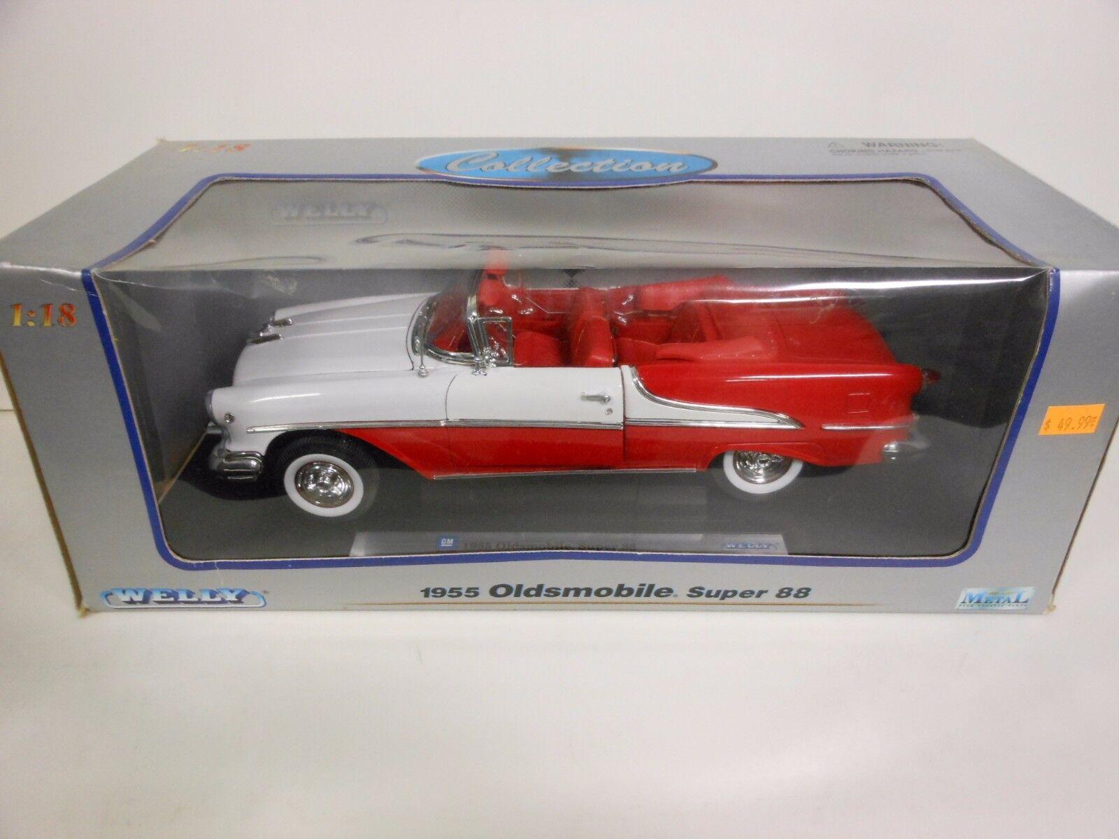 Ei 1955 oldsmobile super 88 (spritzguss 1,18 skala)