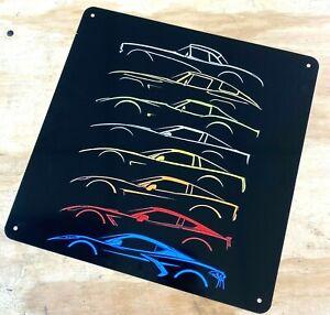"""No Parking Except Corvette Owners Sign 12/"""" x 18/"""" Aluminum Metal Bar Garage Door"""