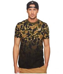 adidas Herren Camouflage Trefoil T Shirt