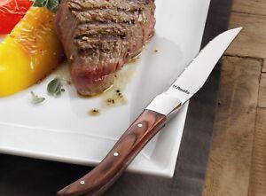 Laguiole-Steakmesser-Amefa-034-Royal-Steak-034-6er-Set-Steakmesser-mit-Holzgriff