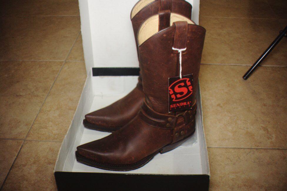 Gentleman/Lady Sendra 3305 Cowboy boots - Brown Fashion pattern Lush design Outstanding style