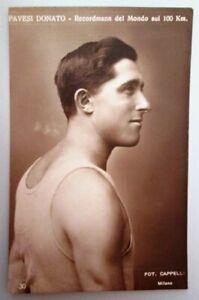 Cartolina-originale-di-Donato-Pavesi-atletica-leggera