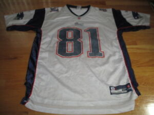 e7348f40f Reebok NFL Players RANDY MOSS No. 81 NEW ENGLAND PATRIOTS (XL ...