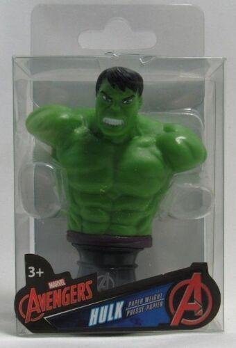 Marvel Avengers Hulk Paper Weight Superhero Bust 3 Inches Tall