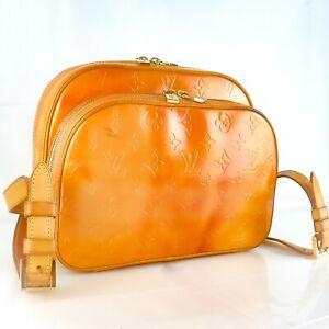 LOUIS-VUITTON-MURRAY-Backpack-Bag-Purse-Monogram-Vernis-M91038-Gris