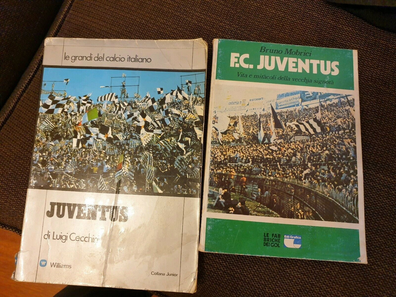 Juventus Libri Vintage Anni '70