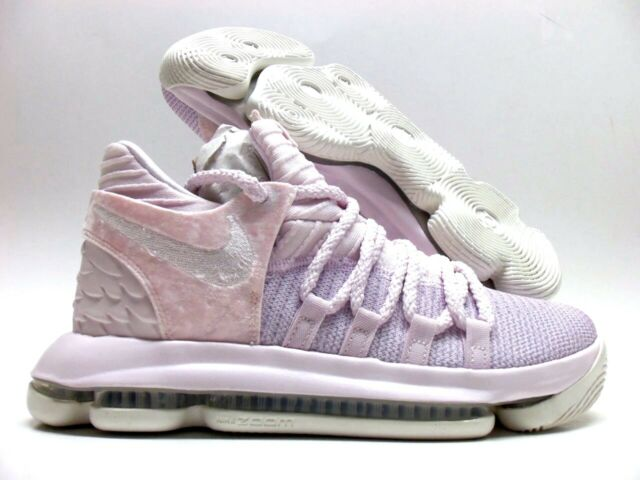 wholesale dealer 6bab7 6c149 NIKE ZOOM KD10 AP (GS) KAY YOW AUNT PEARL PINK SIZE 7Y WOMEN S