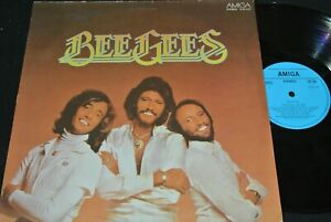 BEE-GEES-same-DDR-blue-label-Reissue-Compilation-LP-1979-AMIGA-855674
