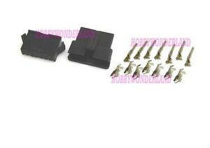 JST-2-5mm-SM-7-Pin-Battery-Male-Female-Connector-Plug-with-Crimps-x-10-SETS