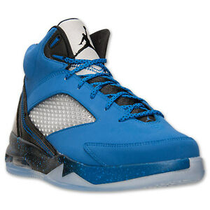 Air Jordan Flight Remix - MENS - Basketball - Sport Blue Black Cool Grey - 679680 403