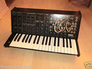 Korg-MS-20-Analog-Synthesizer-das-Original-amp-voll-funktionsfaehig-2J-Garantie