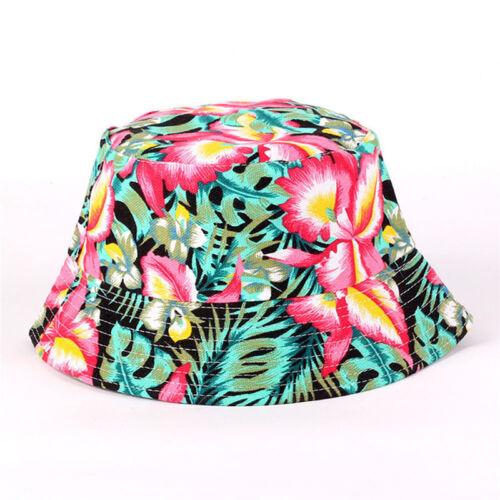 Mens Ladies Bush Bucket Hat Festival Fishing Fisher Summer Sun Beach Anti-UV Cap